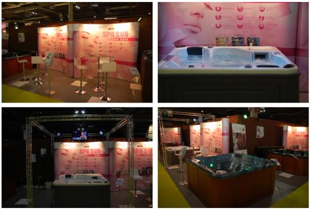 Troppic Spa présent au Salon Spa et Piscine 2011 à Paris