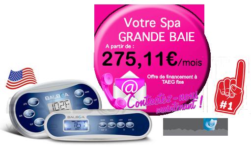 credit pour votre spa Grande Baie ( 8 Places )