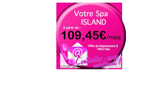 credit pour votre spa Spas Island (3 places)