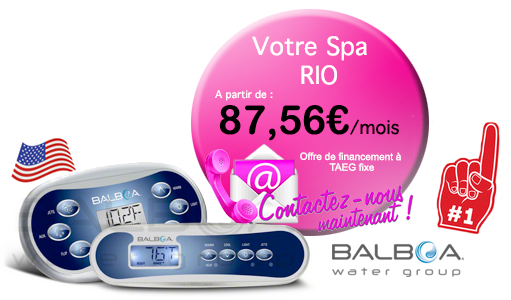 credit pour votre spa Spas Rio (3 places) Relaxation