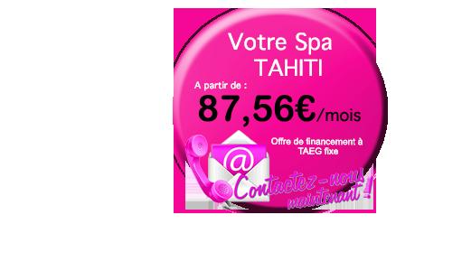 credit pour votre spa Spas Tahiti (6 places)