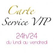 Carte service VIP discount