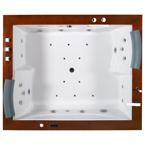 baignoire baln o atlantis en bois exotique tropic spa. Black Bedroom Furniture Sets. Home Design Ideas