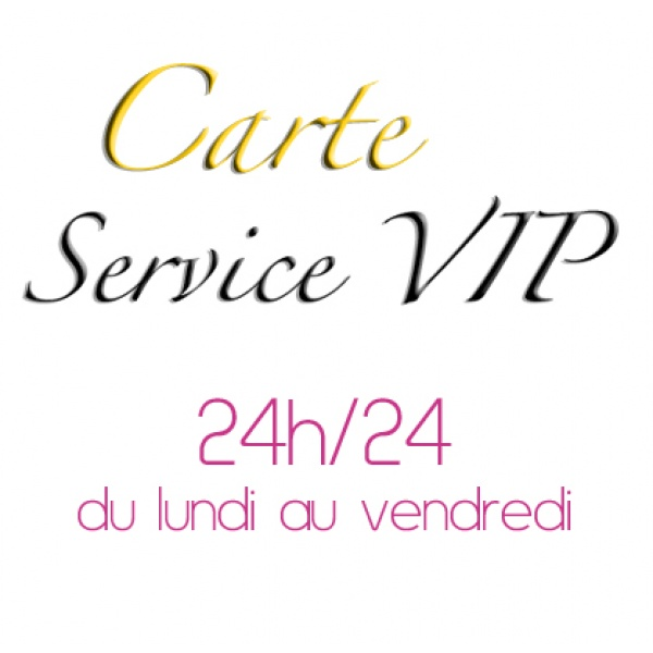 Carte service VIP